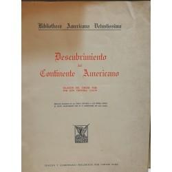 DESCUBRIMIENTO DEL CONTINENTE AMERICANO Relación del Tercer Viaje de Cristbal Colón