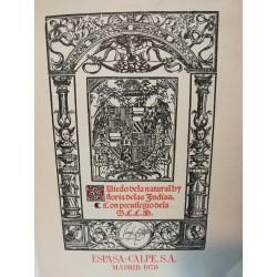 SUMARIO DE LA NATURAL Y GENERAL HISTORIA DE LAS INDIAS