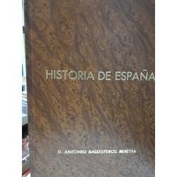 SÍNTESIS DE HISTORIA DE ESPAÑA