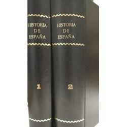 HISTORIA DE ESPAÑA 2 Tomos De los Orígenes a la Baja Edad Media