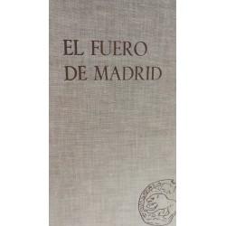 EL FUERO DE MADRID Y LOS DERECHOS LOCALES CASTELLANOS