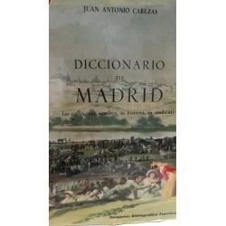 DICCIONARIO DE MADRID Las Calles,sus Nombres, su Historia, su Ambiente