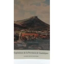 TOPÓNIMOS DE LA PROVINCIA DE GUADALAJARA