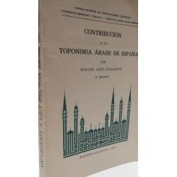 CONTRIBUCIÓN A LA TOPONIMIA ÁRABE EN ESPAÑA