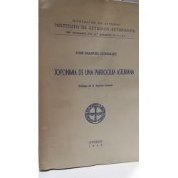 TOPONIMIA DE UNA PARROQUIA ASTURIANA (Sta. Eulalia de Valduno)