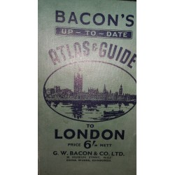 BACON´S UP to DATE (Atlas Guide to London)