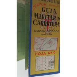 GUÍA MILITAR DE CARRETERAS  Nº 9