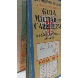 GUÍA MILITAR DE CARRETERAS  Nº 13