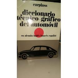 DICCIONARIO TÉCNICO.GRÁFICO DEL AUTOMÓVIL Alemán/inglés/Español