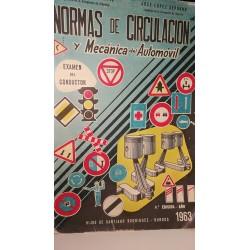 NORMAS DE CIRCULACIÓN Y MECÁNICA DEL AUTOMÓVIL