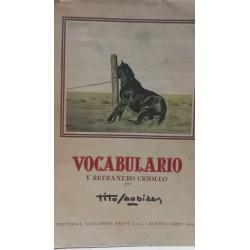 VOCABULARIO Y REFRANERO CRIOLLO