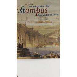 ESTAMPAS DE LA REAL ACADEMIA ESPAÑOLA.Colección Rodriguez Moñino-Brey