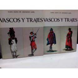 VASCOS Y TRAJES  2 Tomos