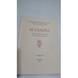 ALTAMIRA Revista del Centro de Estudios Montañeses Tomo LII