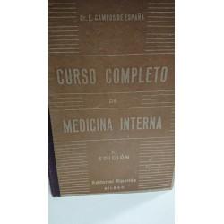 CURSO COMPLETO DE MEDICINA INTERNA