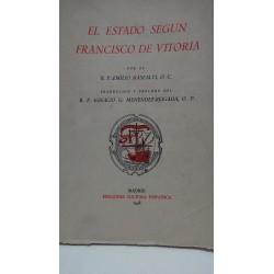 EL ESTADO SEGÚN FRANCISCO DE VITORIA