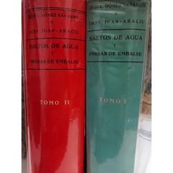 SALTOS DE AGUA  Y PRESAS DE EMBALSE 2 Tomos
