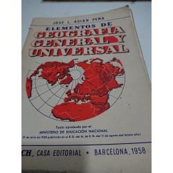 ELEMENTOS DE GEOGRAFÍA GENERAL Y UNIVERSAL
