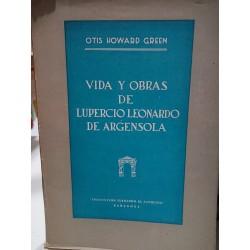 VIDA y OBRA DE LUPERCIO LEONARDO DE ARGENSOLA