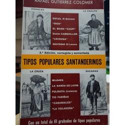 TIPOS POPULARES SANTANDERINOS 61  Grabados de Tipos Populares