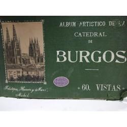 ÁLBUM ARTÍSTICO DE LA CATEDRAL DE BURGOS (60 Vistas)