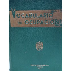 VOCABULARIO DE OCUPACIONES