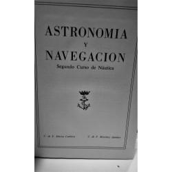 ASTRONOMÍA Y NAVEGACIÓN Segundo curso de Náutica
