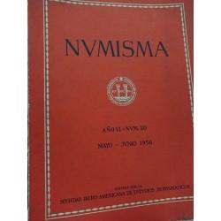 NUMISMA Revista de la Sociedad Iberoamericana de Estudios Numismáticos MAYO-JUNIO 1956