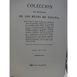 COLECCCIÓN DE RETRATOS DE LOS REYES DE ESPAÑA