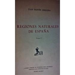 REGIONES NATURALES DE ESPAÑA Tomo I
