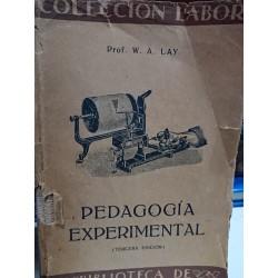 PEDAGOGÍA EXPERIMENTAL Colección Labor Biblioteca de Iniciación Cultural