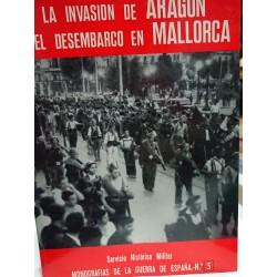 LA INVASIÓN DE ARAGÓN Y EL DESEMBARCO EN MALLORCA