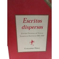 ESCRITOS DISPERSOS (Centro Nacional de Nuevas Tendencias Escénicas 1984-1994)