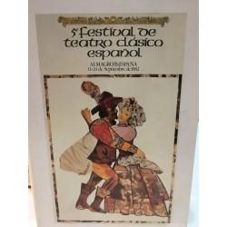 V FESTIVAL DE TEATRO CLÁSICO ESPAÑOL Almagro España 11-24 Septiembre 1982