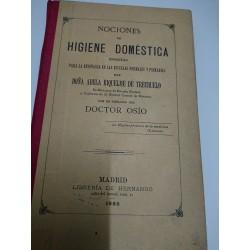 NOCIONES DE HIGIENE DOMÉSTICA Escrita para la enseñanza en las escuelas normales y primarias