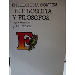 ENCICLOPEDIA CONCISA DE FILOSOFÍA Y FILÓSOFOS