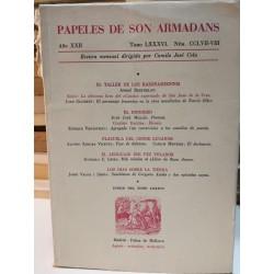 PAPELES DE SON ARMADANS Revista Literaria dirigida por Camilo José Cela