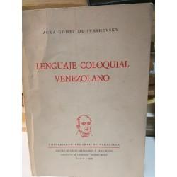 LENGUAJE COLOQUIAL VENEZOLANO