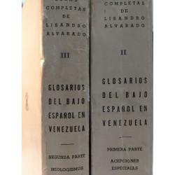 APORTES JESUÍTICOS A LA FILOLOGÍA COLONIAL VENEZOLANA 2 Tomos