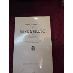 GUÍA Y DESCRIPCIÓN DEL REAL SITIO DE SAN ILDEFONSO