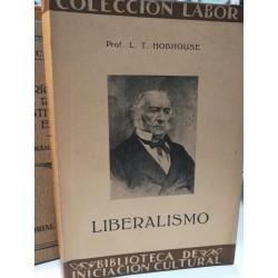 LIBERALISMO Colección LABOR Biblioteca de Iniciación Cultural