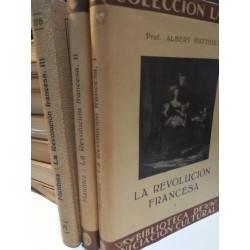 LA REVOLUCIÓN FRANCESA 3 Tomos  Colección LABOR Biblioteca de Iniciación Cultural