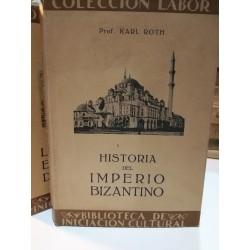 HISTORIA DEL  IMPERIO BIZANTINO  Colección LABOR Biblioteca de Iniciación Cultural