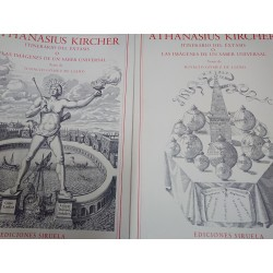ATHANASIUS KIRCHER 2 Tomos Itinerario del éxtasis ó las imágenes de un saber universal