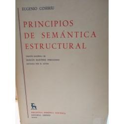 PRINCIPIOS DE SEMÁNTICA ESTRUCTURAL Biblioteca Románica Hispánica GREDOS Dirigida por Dámaso Alonso
