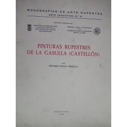 PINTURAS RUPESTRES DE LA GASULLA Castellón