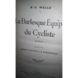 LE BURLESQUE EQUIPEÉ DU CYCLISTE