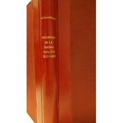 RECUERDOS DE LA GUERRA CARLISTA 1837-1839