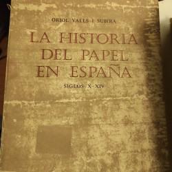 LA HISTORIA  DEL PAPEL EN ESPAÑA Siglos X-XIV