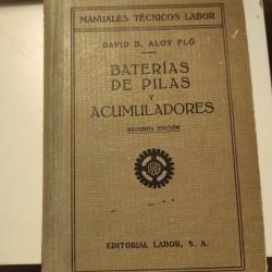 BATERIAS DE PILAS Y ACUMULADORES
